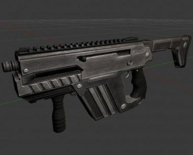 Submachine Gun M24 R