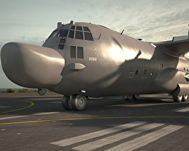 3D model of Lockheed MC-130