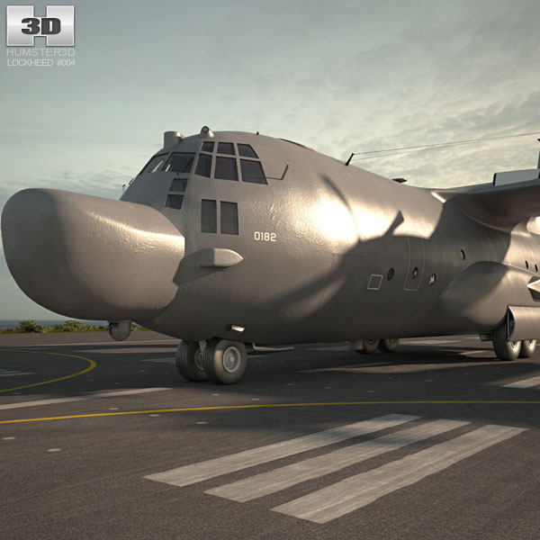 Lockheed MC-130 3D model