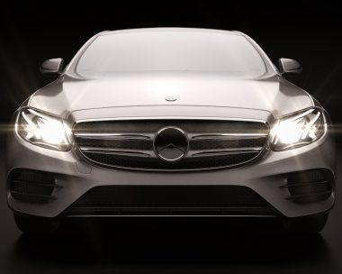 Mercedes Class E W213 Launch Visual Projection