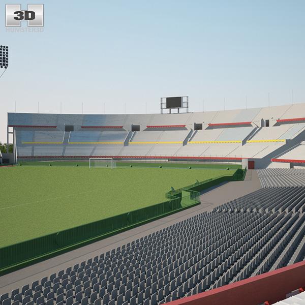 3D model of Estadio Centenario