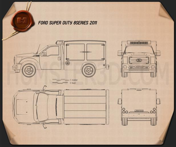 Ford Super Duty 8 Series 2011 Blueprint