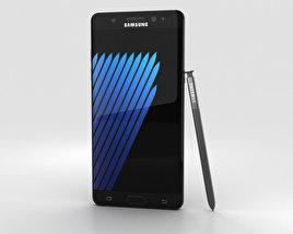 Samsung Galaxy Note 7 Black Onyx 3D model