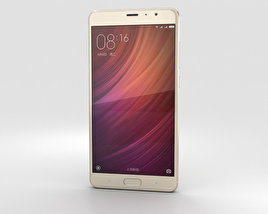 3D model of Xiaomi Redmi Pro Gold