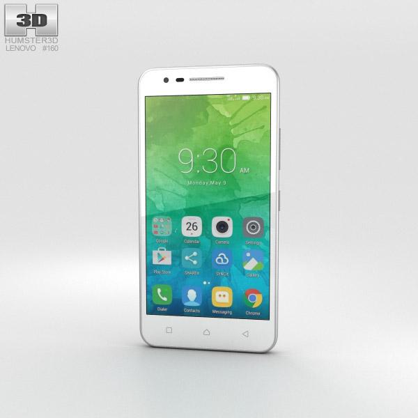 Lenovo Vibe C2 White 3D model