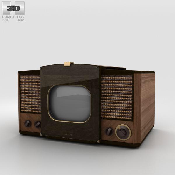 3D model of RCA 630-TS