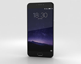 3D model of Meizu MX6 Gray