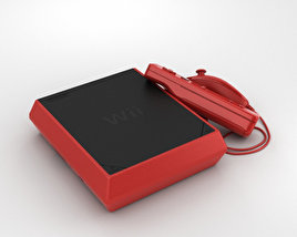 3D model of Nintendo Wii Mini