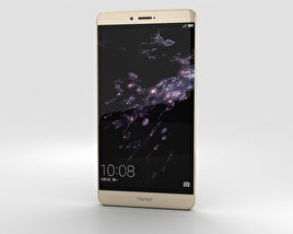 3D model of Huawei Honor Note 8 Gold