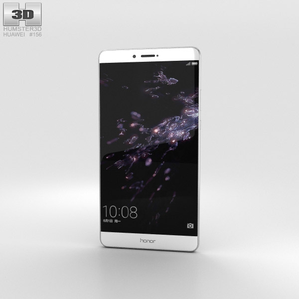 Huawei Honor Note 8 White 3D model