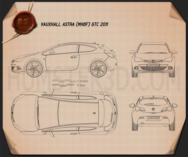 Vauxhall Astra GTC 2011 Planta