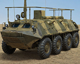 3D model of BTR-60PU