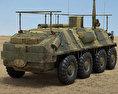 BTR-60PU 3d model