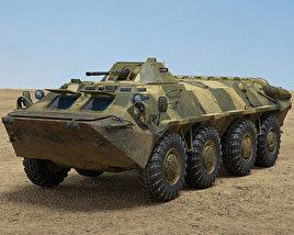 3D model of BTR-70