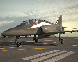 3D model of Hawker Siddeley Hawk