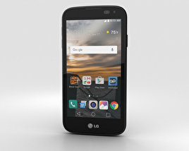 LG K3 Black 3D model