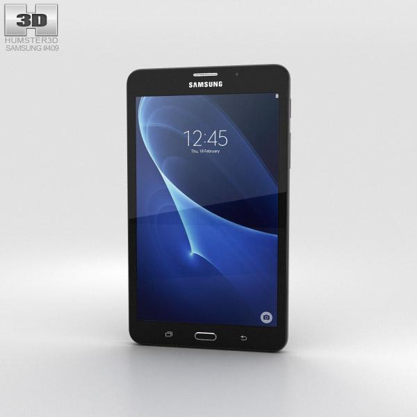 Samsung Galaxy J Max Black 3D model