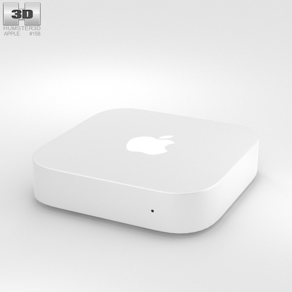 3D model of Apple AirPort Express
