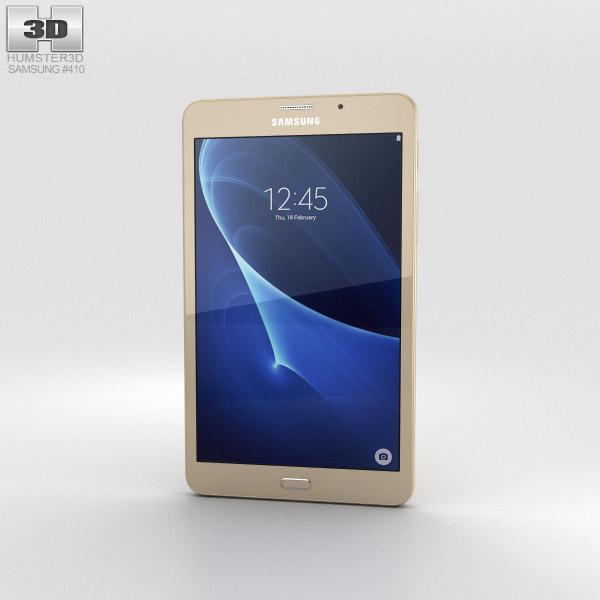 Samsung Galaxy J Max Gold 3D model
