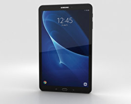 3D model of Samsung Galaxy Tab A 10.1 Metallic Black