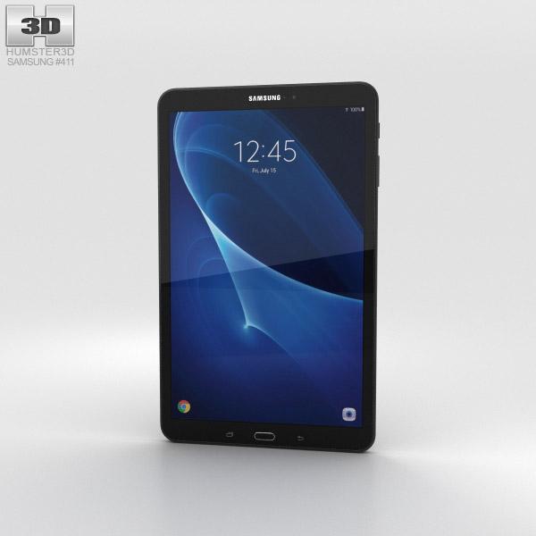 Samsung Galaxy Tab A 10.1 Metallic Black 3D model