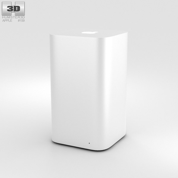 3D model of Apple AirPort Extreme