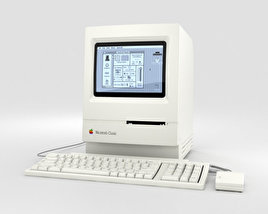 3D model of Apple Macintosh Classic