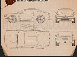 Nissan IDx Freeflow 2014 Blueprint
