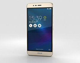 3D model of Asus Zenfone 3 Max Sand Gold