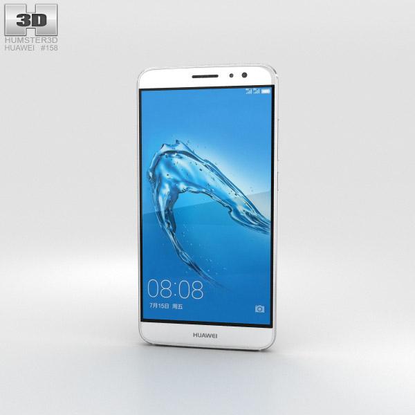 Huawei G9 Plus Silver 3D model