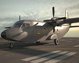 3D model of CASA C-212 Aviocar
