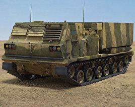 3D model of M270 MLRS