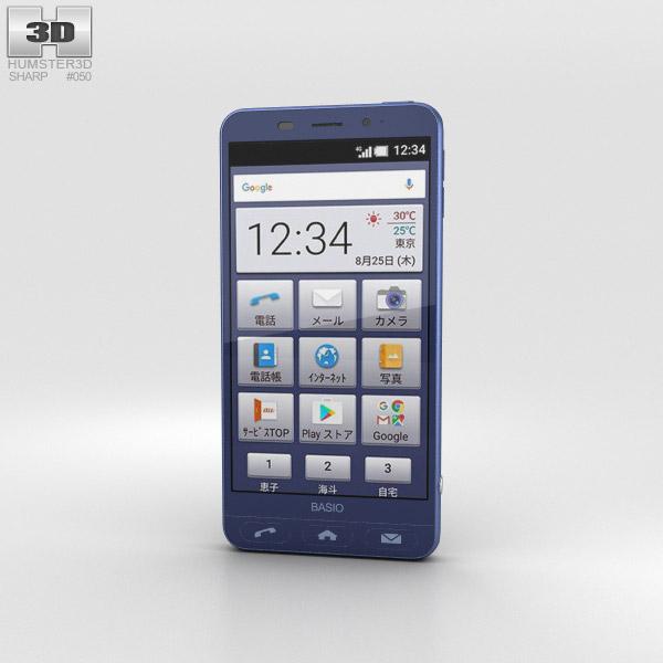 Sharp Basio 2 Blue 3D model