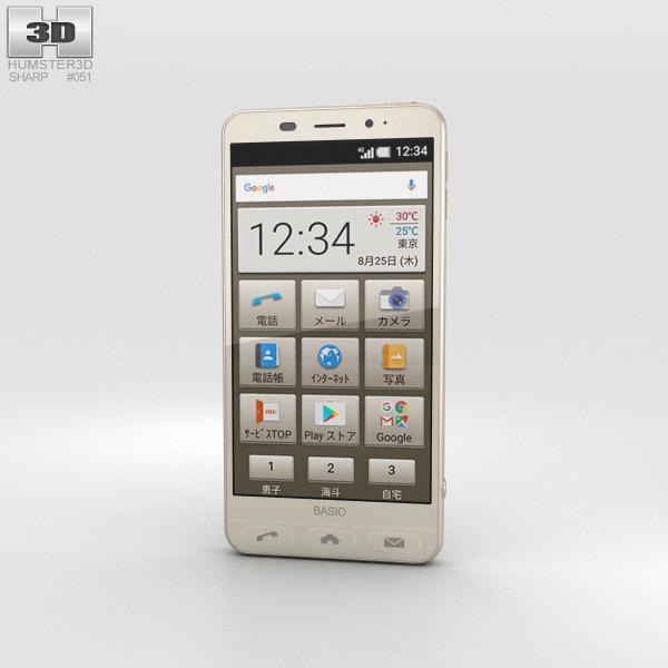 Sharp Basio 2 Gold 3D model