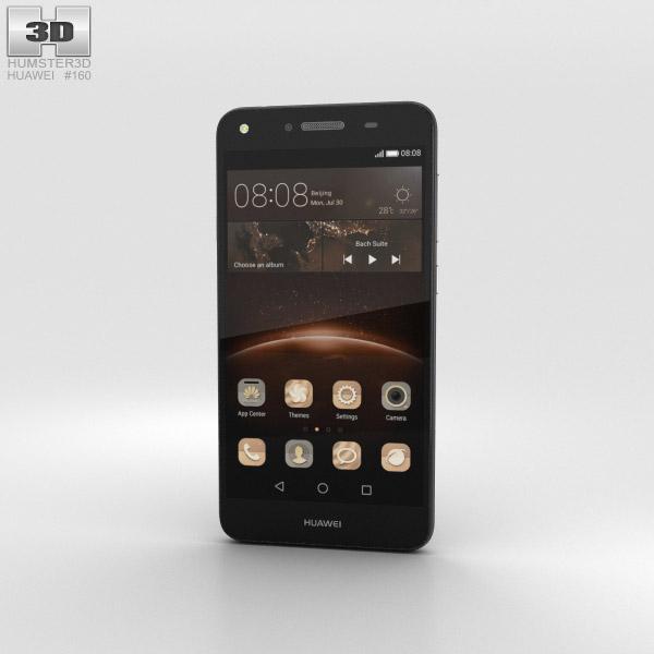 Huawei Y5II Obsidian Black 3D模型