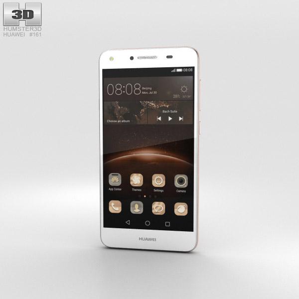 Huawei Y5II Rose Pink 3D模型
