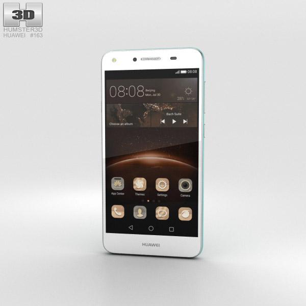 Huawei Y5II Sky Blue 3D模型