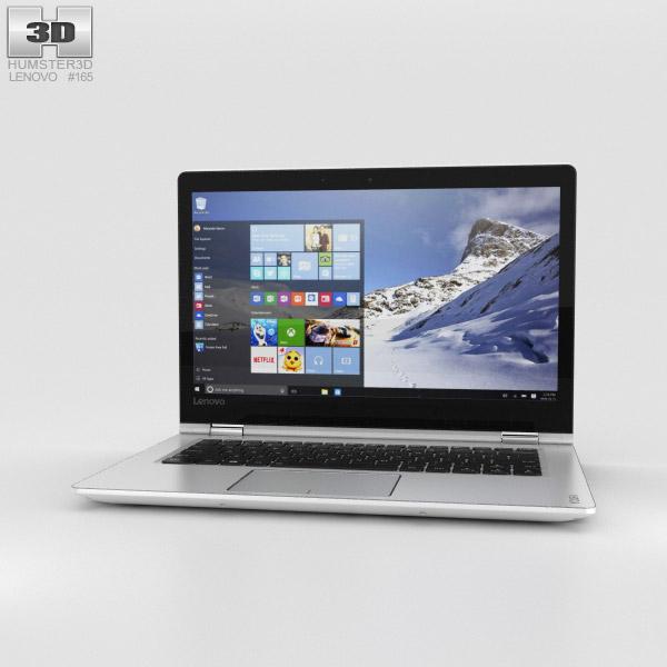 Lenovo Yoga 510 White 3D model