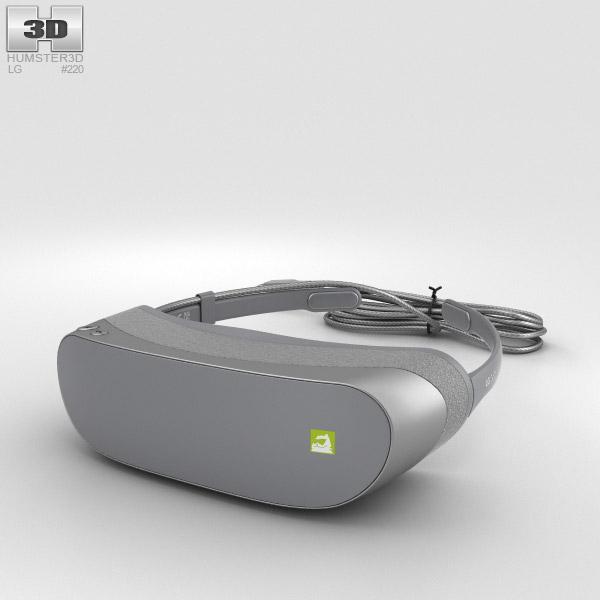 LG 360 VR 3D model