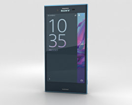 3D model of Sony Xperia XZ Forest Blue