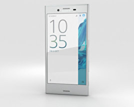 3D model of Sony Xperia XZ Platinum
