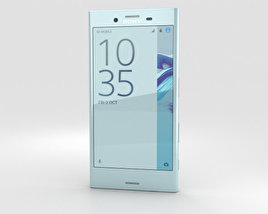 3D model of Sony Xperia X Compact Mist Blue