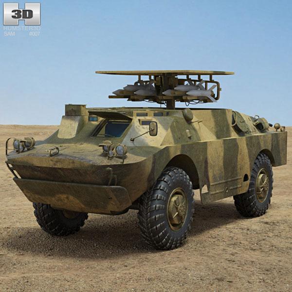 9P122 Malyutka 3D model