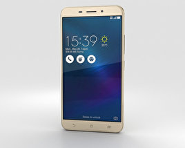 3D model of Asus Zenfone 3 Laser Sand Gold
