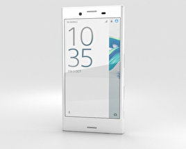 3D model of Sony Xperia X Compact White