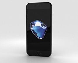3D model of Apple iPhone 7 Jet Black