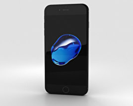 3D model of Apple iPhone 7 Plus Jet Black