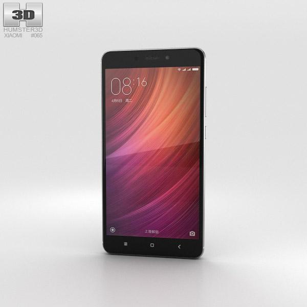 Xiaomi Redmi Note 4 Gray 3D model