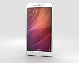 3D model of Xiaomi Redmi Note 4 Silver