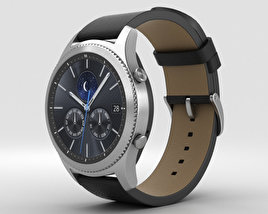3D model of Samsung Gear S3 Classic